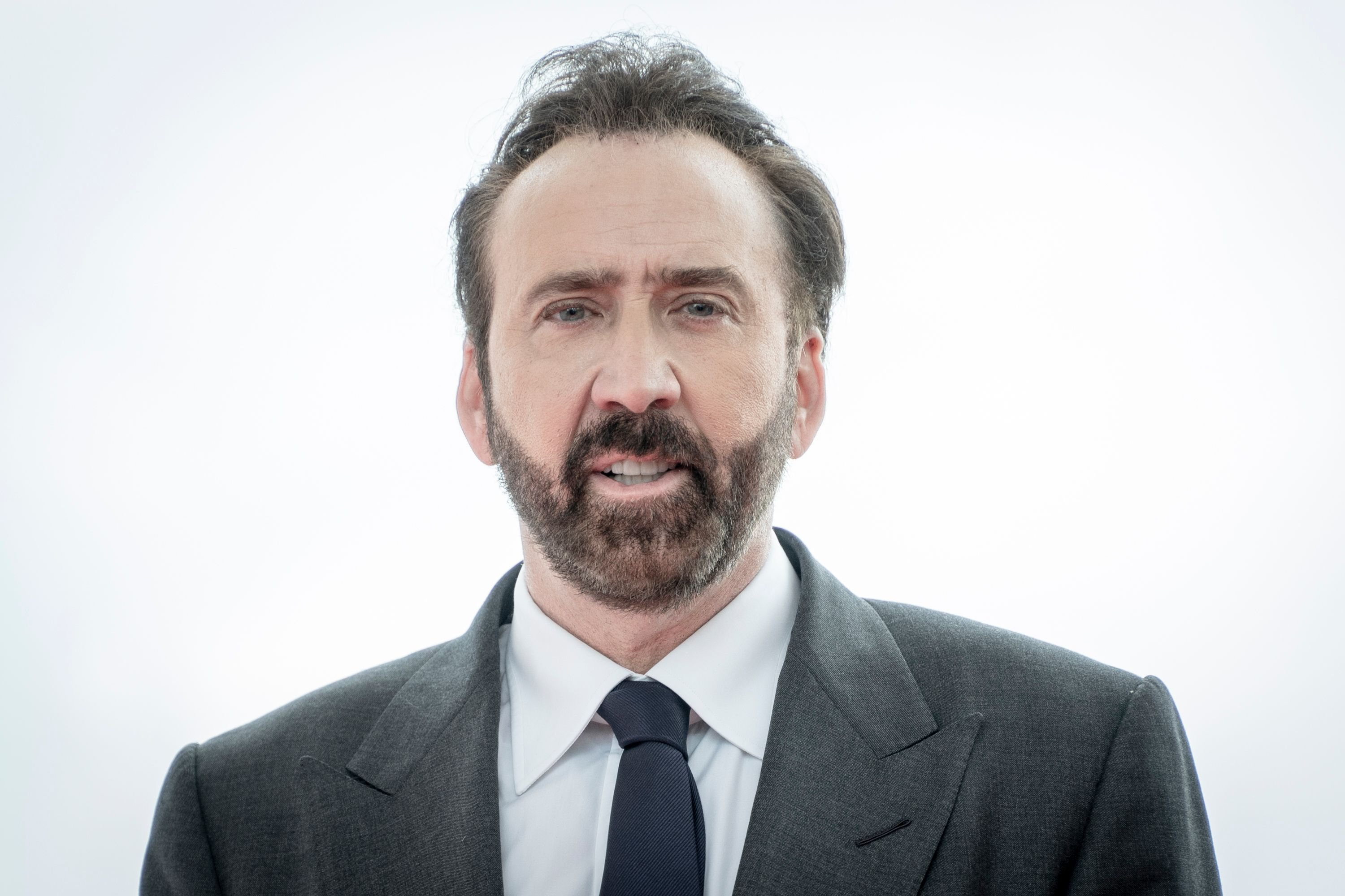 Nicolas Cage posing during a photocall on day three of the Sitges Film Festival 2018 in Sitges, Spain | Photo: Robert Marquardt/Getty Images