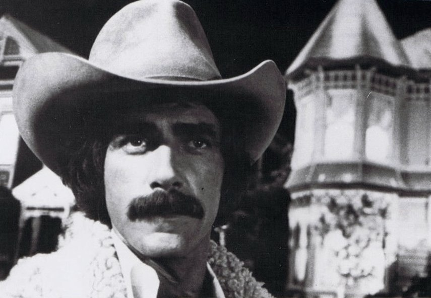 Sam Elliott in the 1977 film, Aspen. Image credit: Wikimedia Commons/NBC Television