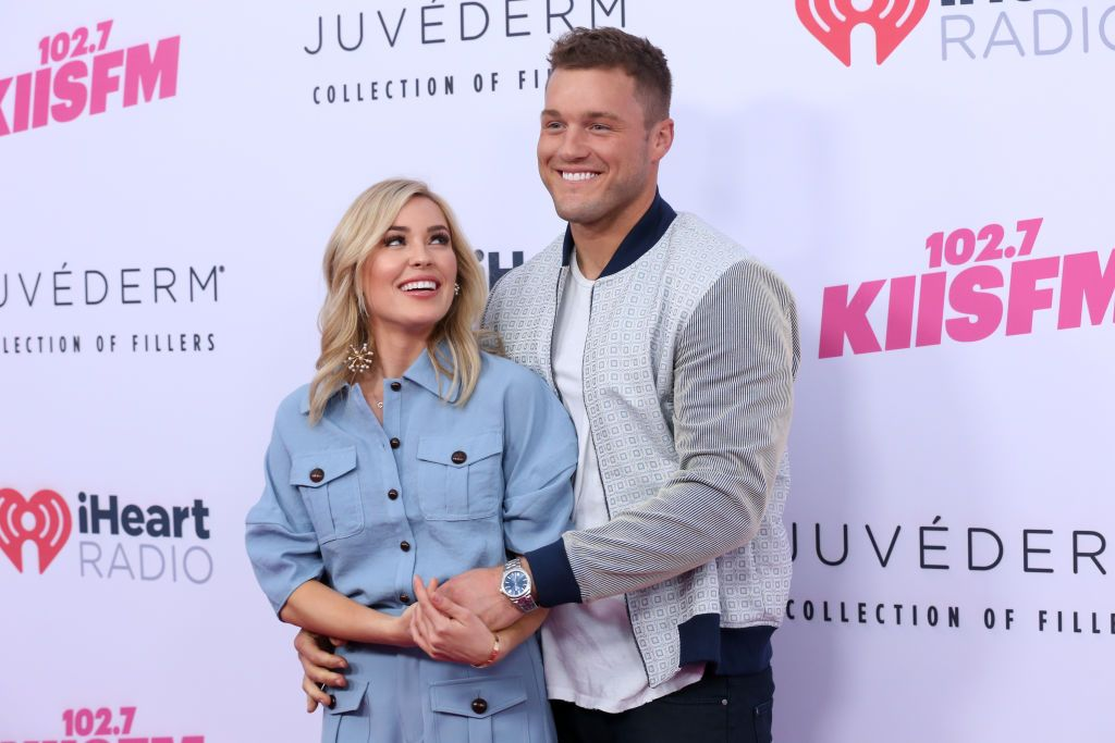Cassie Randolph and Colton Underwood during the iHeartRadio Wango Tango on June 01, 2019. | Photo: Getty Images