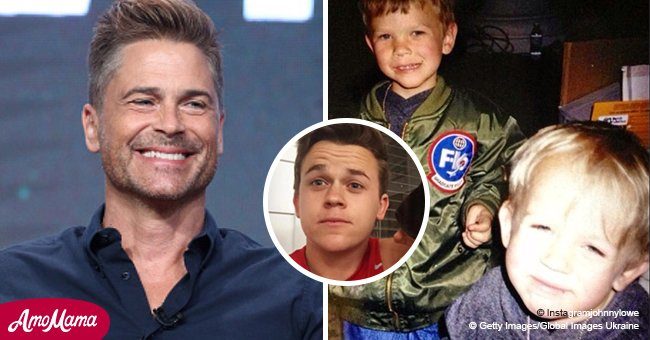 Rob Lowe's sons are all grown up and they're just as handsome as their famous father
