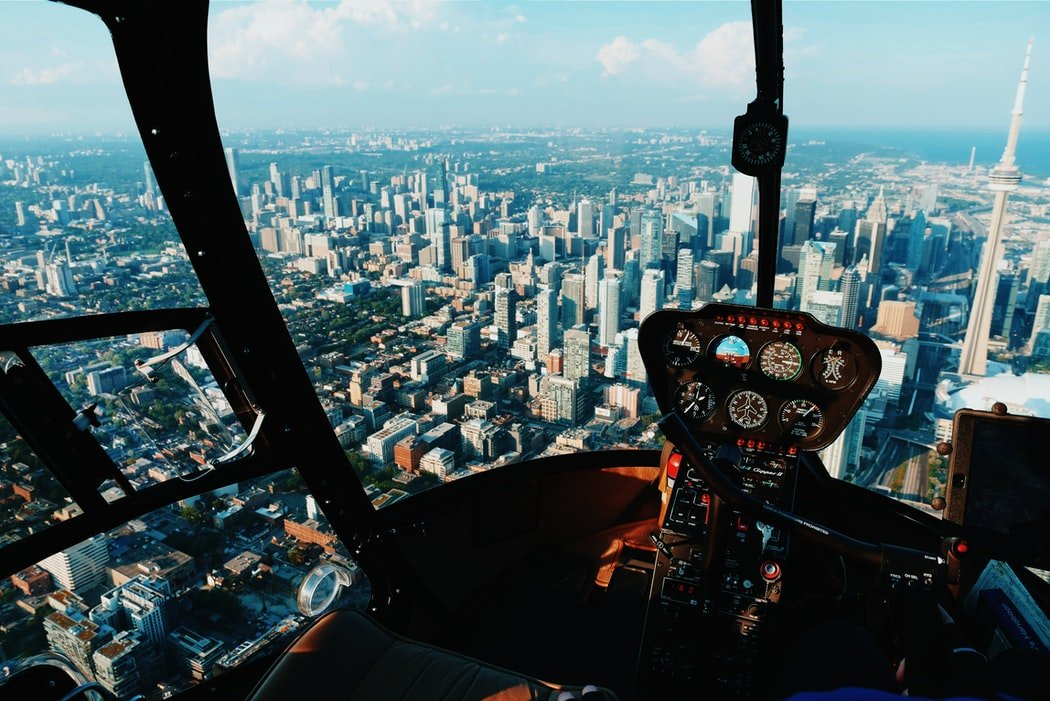 His father's helicopter crashed | Source: Unsplash