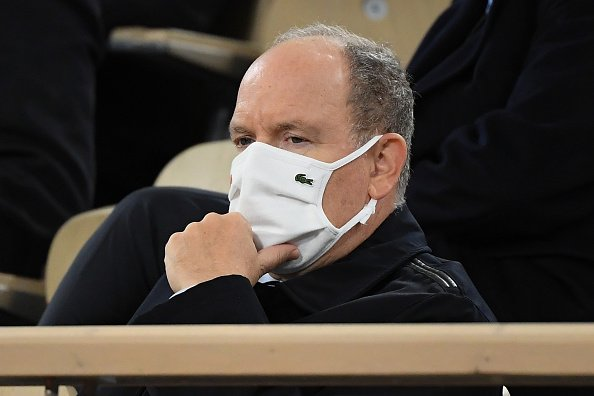 Le Prince Albert II de Monaco assiste à la finale masculine, Rafael Nadal d'Espagne contre Novak Djokovic.|Photo : Getty Images