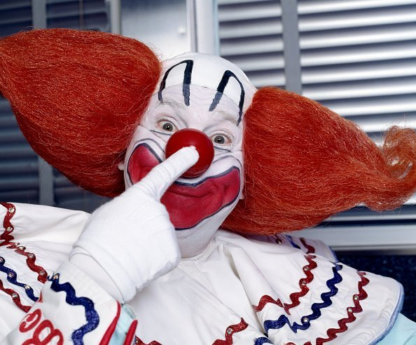 """Bozo the Clown, an early television personality stars on """"TV's All-Time Favorites."""" 