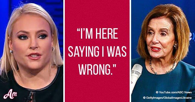 Meghan McCain admits she 'completely underestimated' Nancy Pelosi
