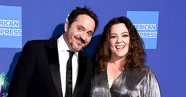 Melissa McCarthy Posts Cute Throwback Photo with Husband Ben Falcone on Their 14th Anniversary