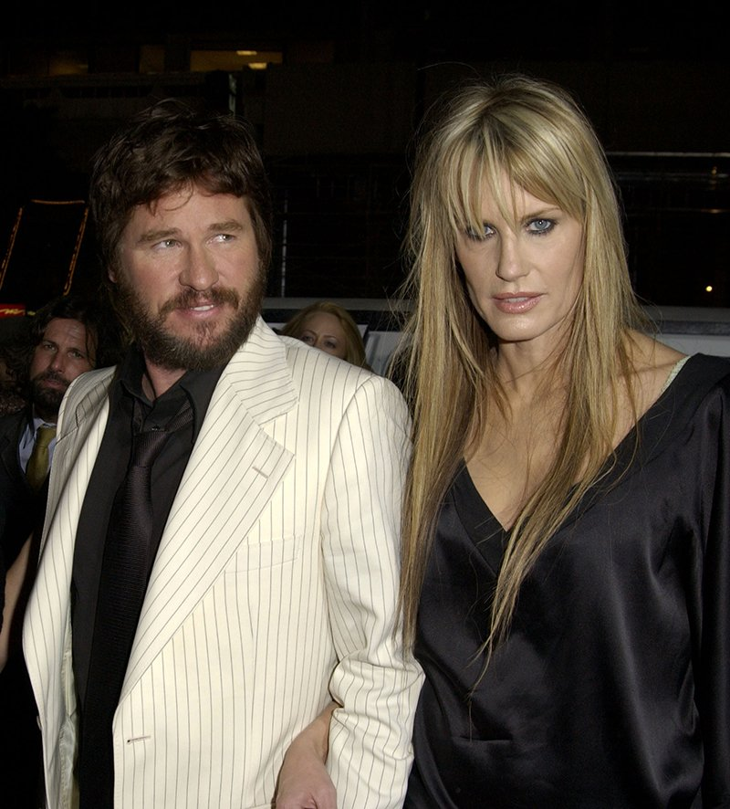 "Val Kilmer and Daryl Hannah arrive at the premiere of ""Wonderland,"" in Los Angeles, California in 2003. I Image: Getty Images."