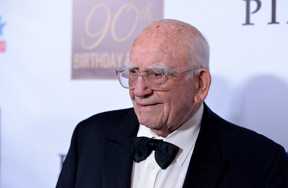 Ed Asner at his 90th Birthday Party and Celebrity Roast at The Roosevelt Hotel in Hollywood, California on November 03, 2019. | Photo: Getty Images