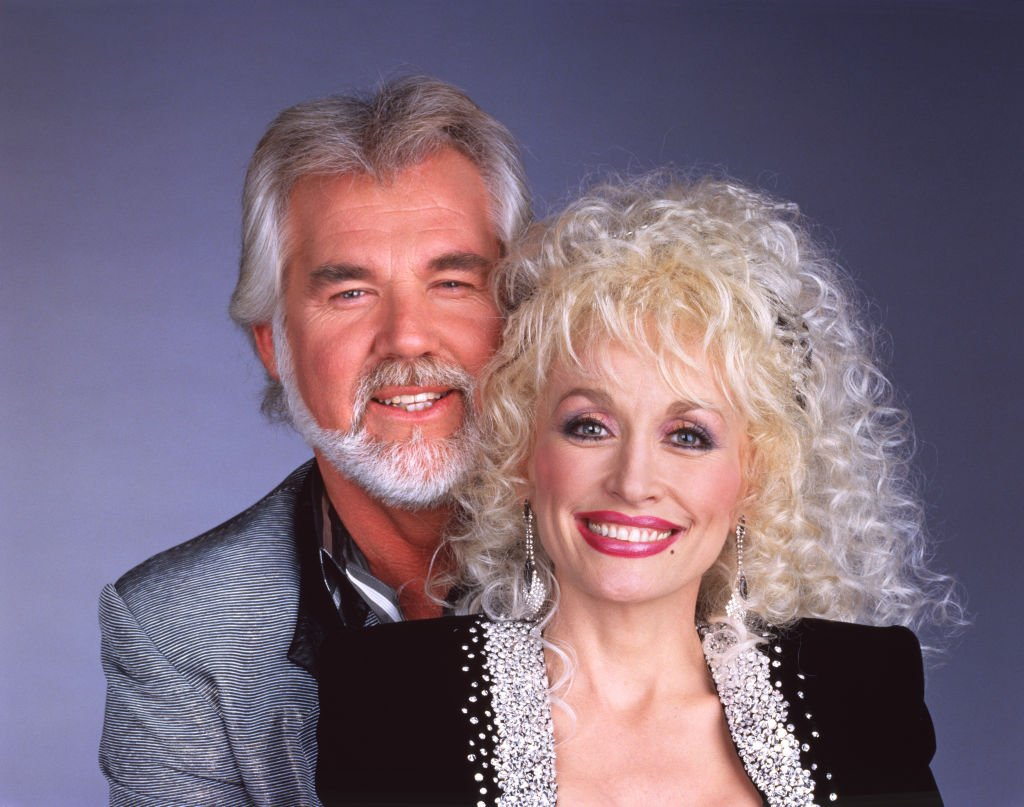 Kenny Rogers and Dolly Parton in 1987 | Photo: GettyImages