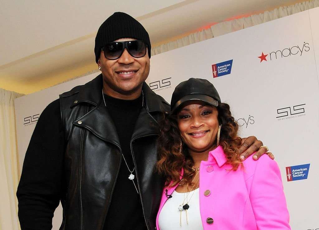 LL Cool J and his wife Simone I. Smith attend SIS By Simone I. Smith Jewelry Event at Macy's Herald Square | Photo: Getty Images