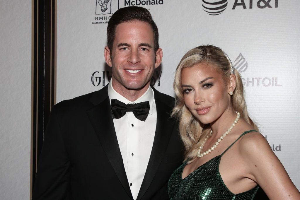 Tarek El Moussa and Heather Rae Young at the Give Easy event at Avalon Hollywood on November 07, 2019, in Los Angeles, California | Photo: Paul Archuleta/Getty Images