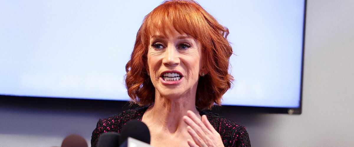 Kathy Griffin Continues Her Feud with Anderson Cooper While Discussing His Late Mom Gloria Vanderbilt
