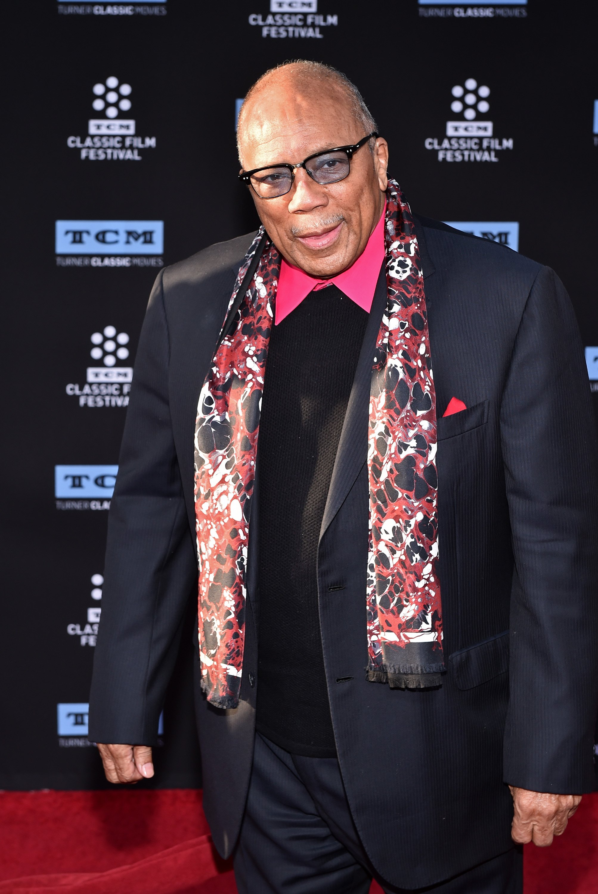 Quincy Jones at TCL Chinese Theatre IMAX on April 6, 2017 in Hollywood, California. | Photo: Getty Images