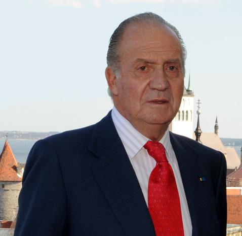 El rey Juan Carlos I de España en su visita de estado a Estonia en mayo de 2009. | Imagen: Wikimedia Commons