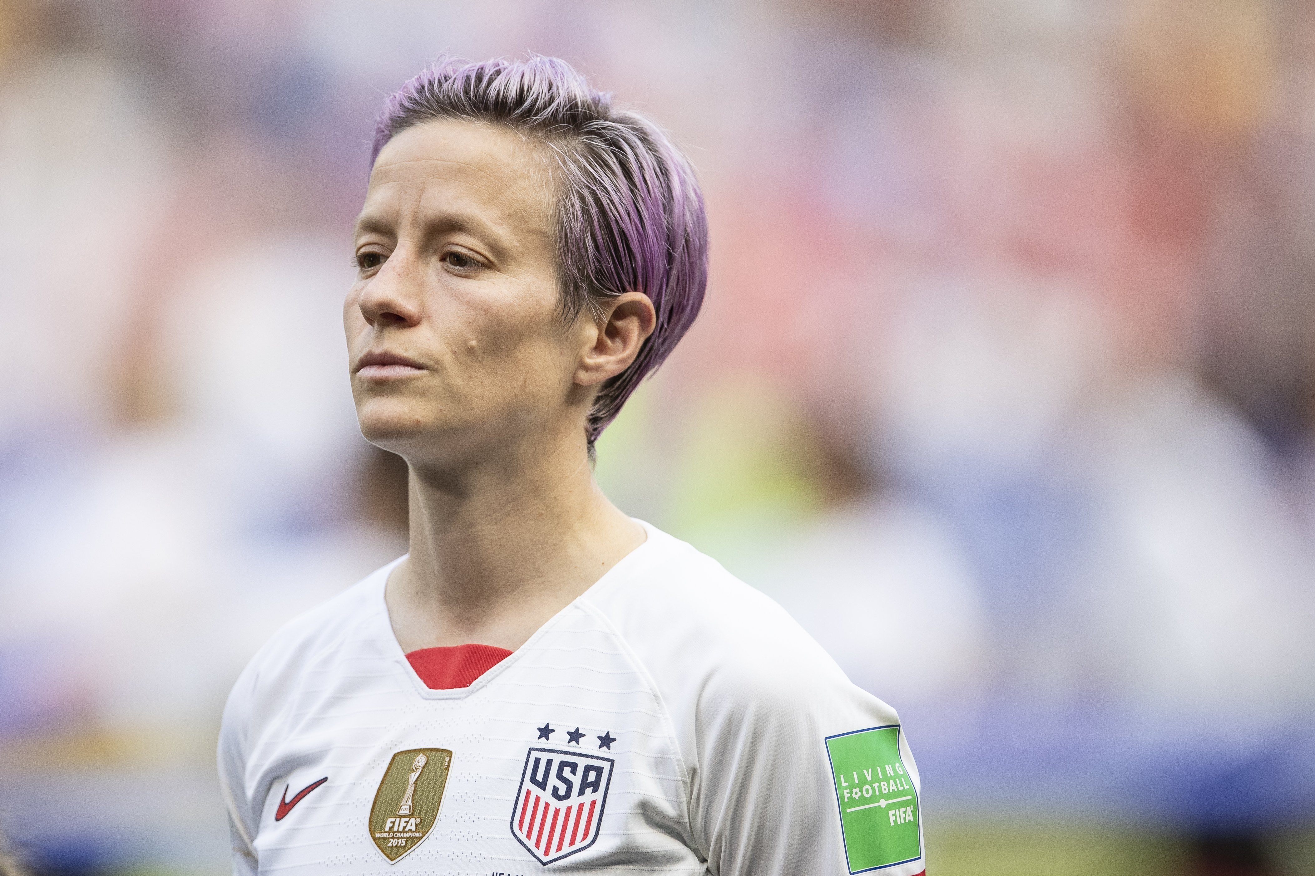 Megan Rapinoe, co-captain of the US Women's Soccer team | Photo: Getty Images