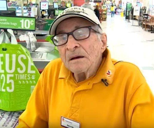 Bartholomew Ficeto at the store | Photo: YouTube / Eyewitness News ABC7NY