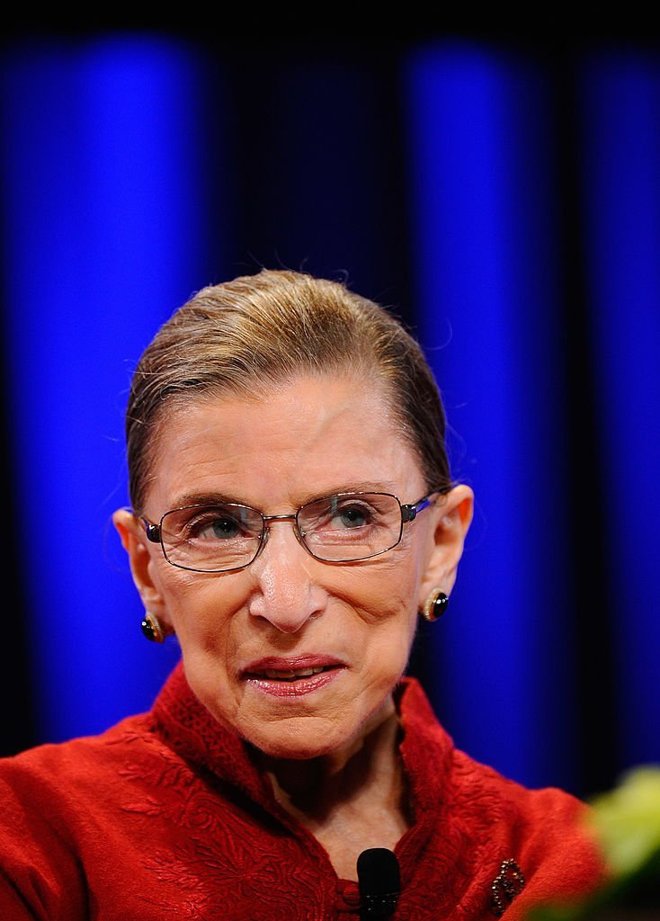 Justice Ruth Bader Ginsburg attends California first lady Maria Shriver's annual Women's Conference. | Photo: Getty Images