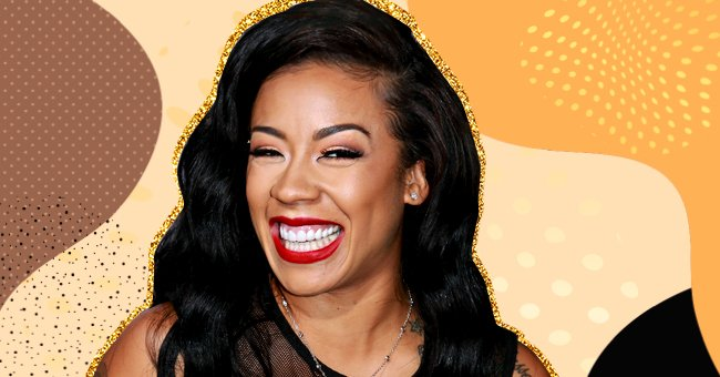 Watch Keyshia Cole Work Out While Holding Her 1-Year-Old Son Tobias in a New Video