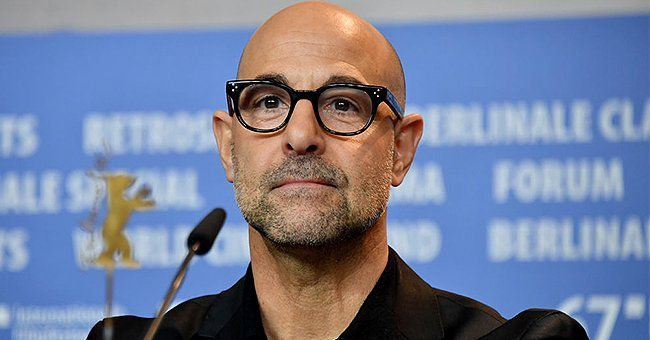 Stanley Tucci attends the 'Final Portrait' press conference during the 67th Berlinale International Film Festival, February 2017 | Source: Getty Images
