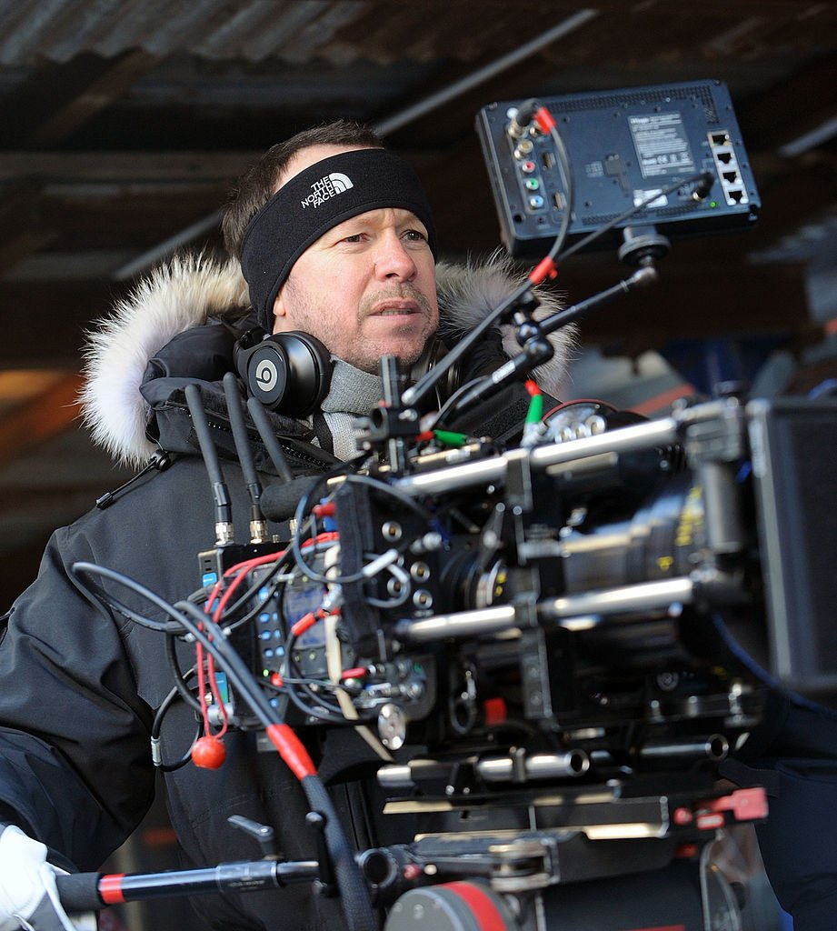 """Donnie Wahlberg on the set of """"Blue Bloods"""" in New York City on January 7, 2014 