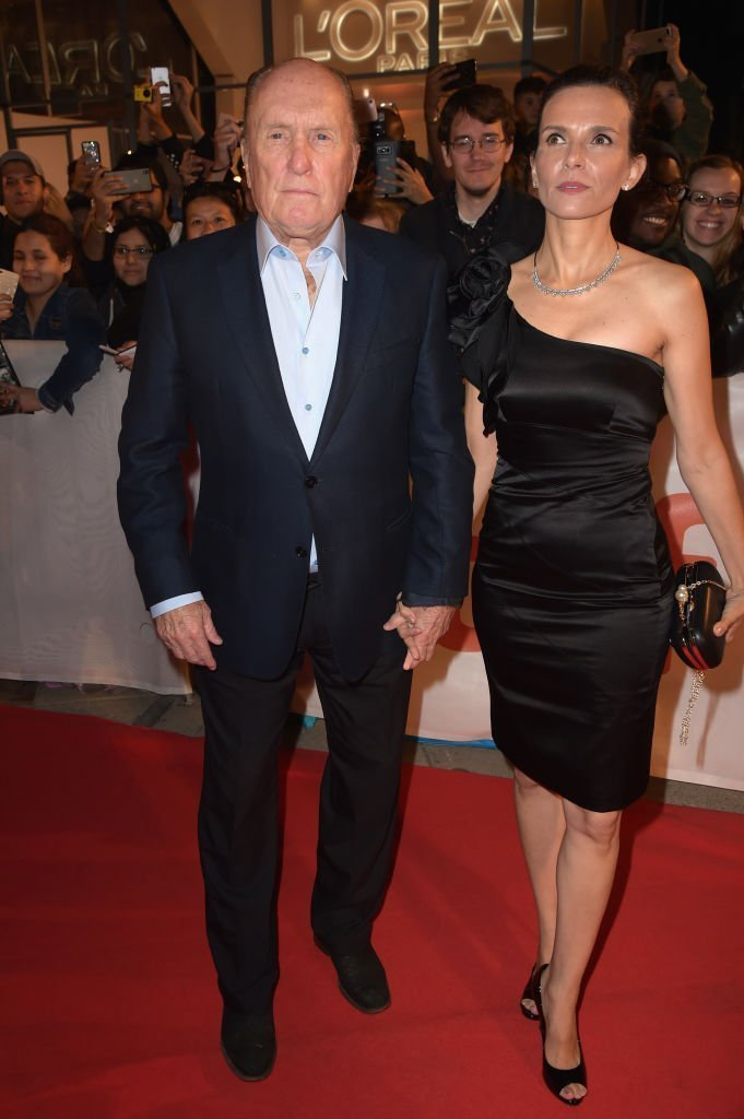 "Robert Duvall and Luciana Pedraza at the ""Windows"" premiere. 