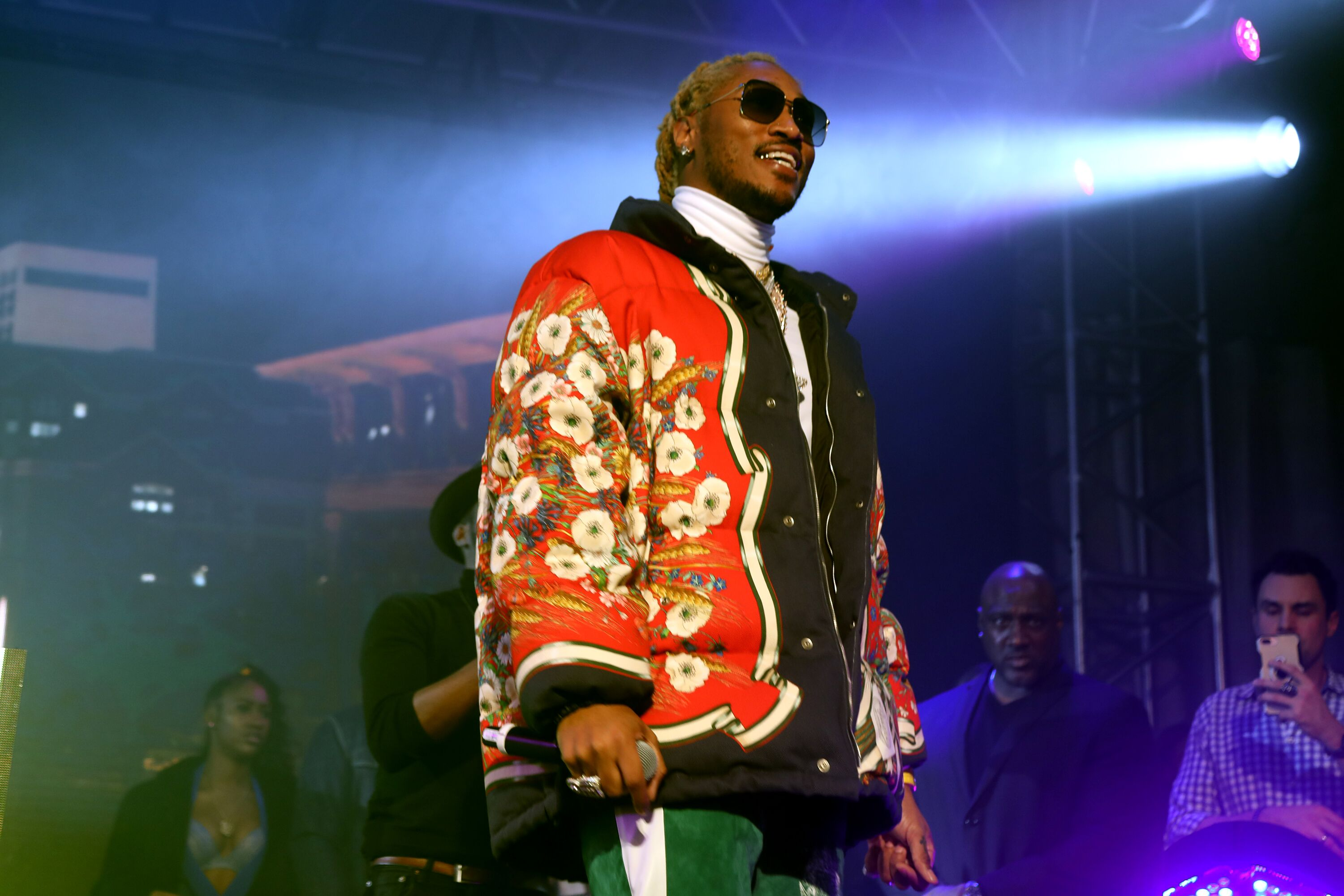 Rapper Future in concert/ Source: Getty Images