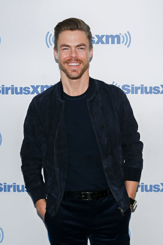 Professional Dancer/media personality Derek Hough visits SiriusXM Studios | Photo: Getty Images