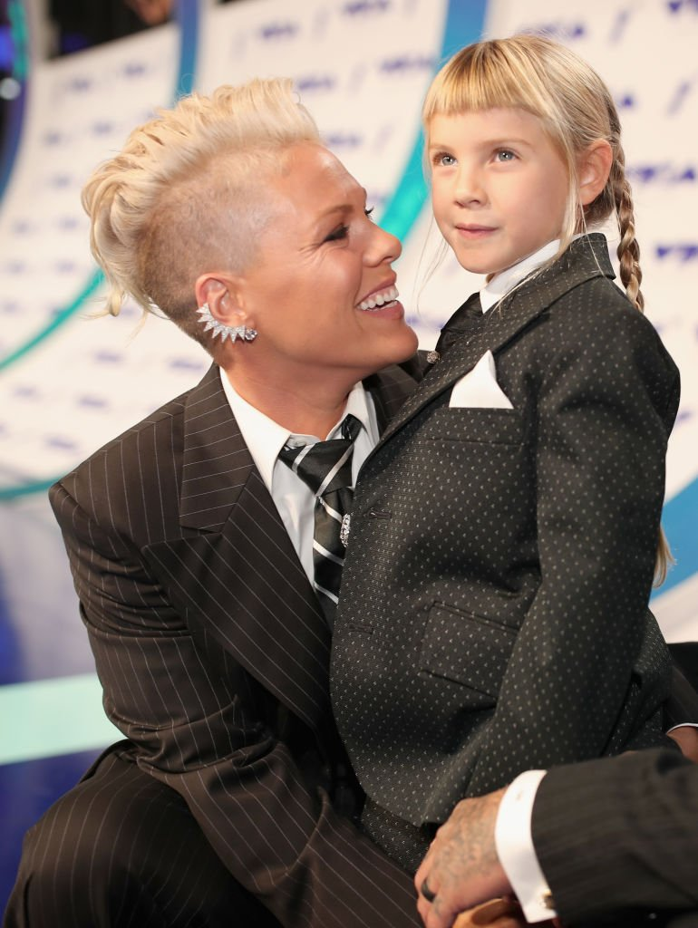 Pink and her daughter Willow Hart. I Image: Getty Images.