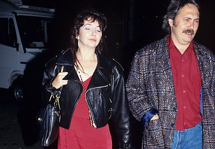 Kate Bush and her musician husband, Dan McIntosh during one of their outings | Photo: Wikimedia Commons