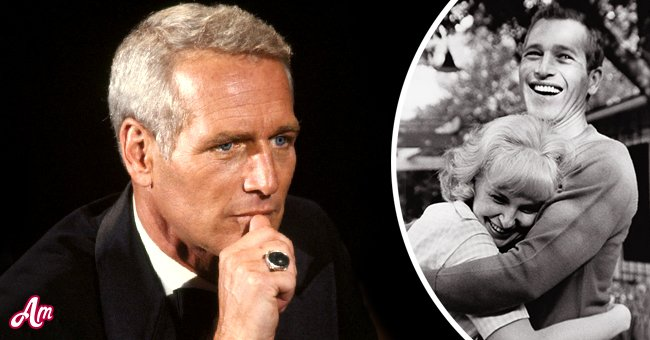 Paul Newman in his late years (Left) and Paul Newman with Joanne Woodward (Right) | Photos: Getty Images