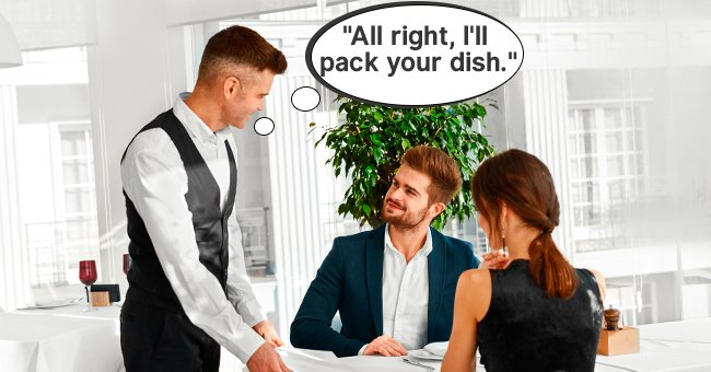 Daily Joke: Couple in a Restaurant Was Embarrassed to Take Leftovers with Them