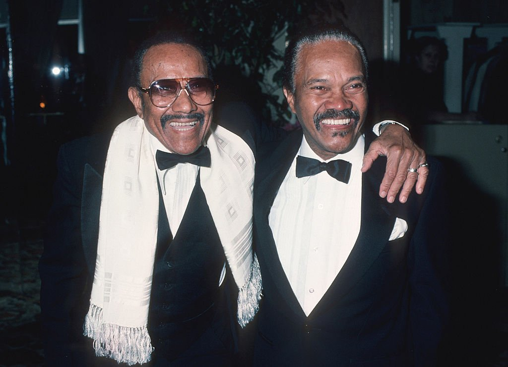 Harold Nicholas and Fayard Nicholas at the AFI Life Achievement Awards at the Beverly Hilton Hotel in Beverly Hills, on March 7, 1985. | Photo: Getty Images