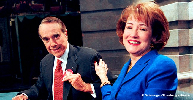 Bob and Elizabeth Dole reveal they had their first call while her date was sitting in the next room.