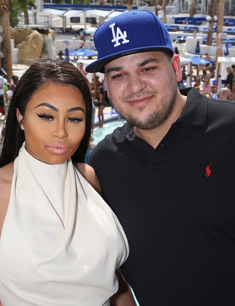 Dream's parents,  Blac Chyna and Rob Kardashian when they were still dating in 2016. | Photo: Getty Images