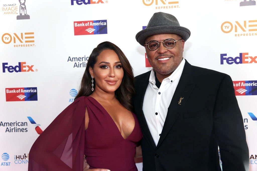 Adrienne and Israel Houghton at the 50th NAACP Image Awards Dinner in March 2019. | Photo: Getty Images