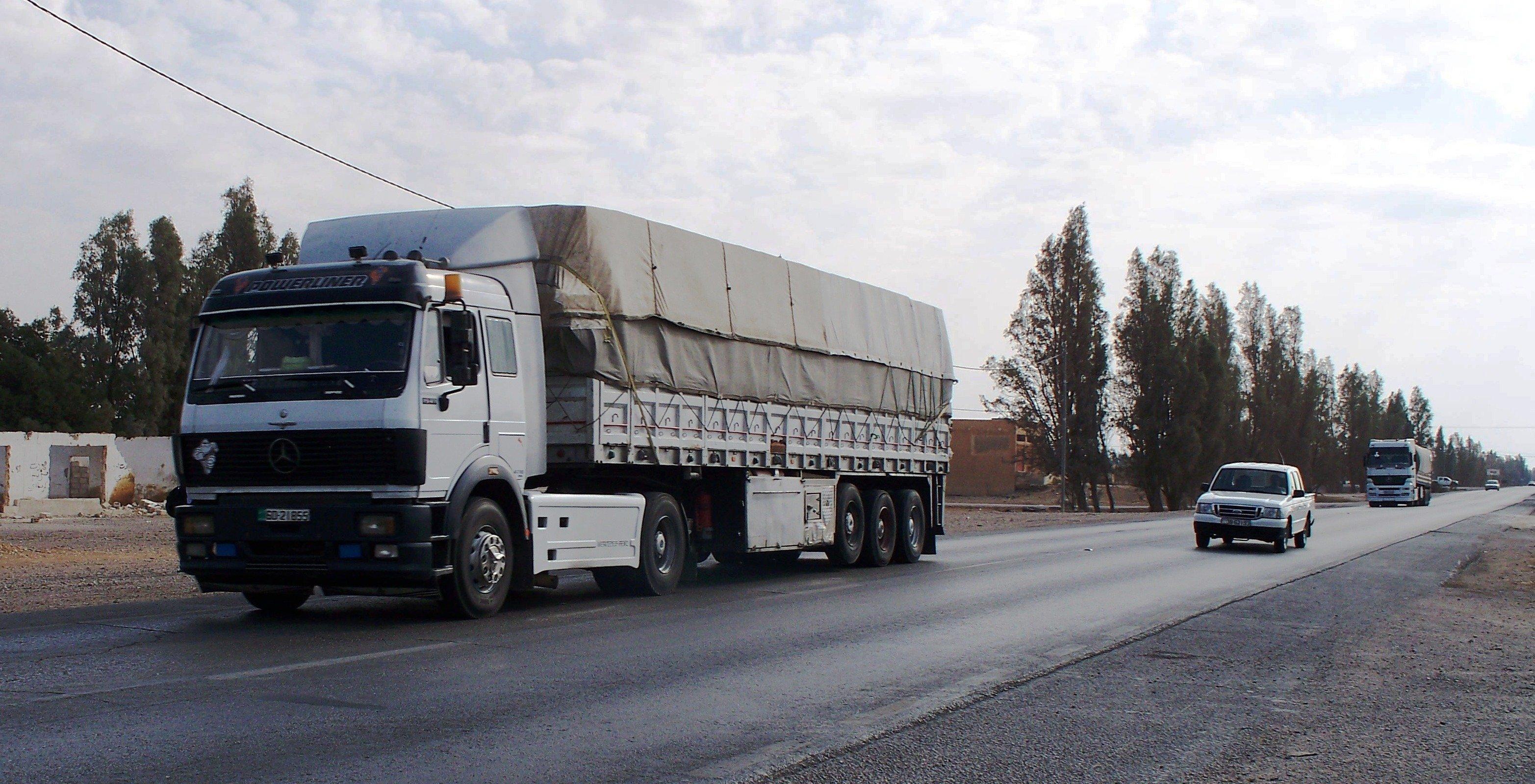 Camión en carretera. | Imagen: Wikimedia Commons