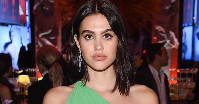 """Amelia Hamlin pictured at Harper's BAZAAR celebrates """"ICONS By Carine Roitfeld,"""" 2019, New York City. 