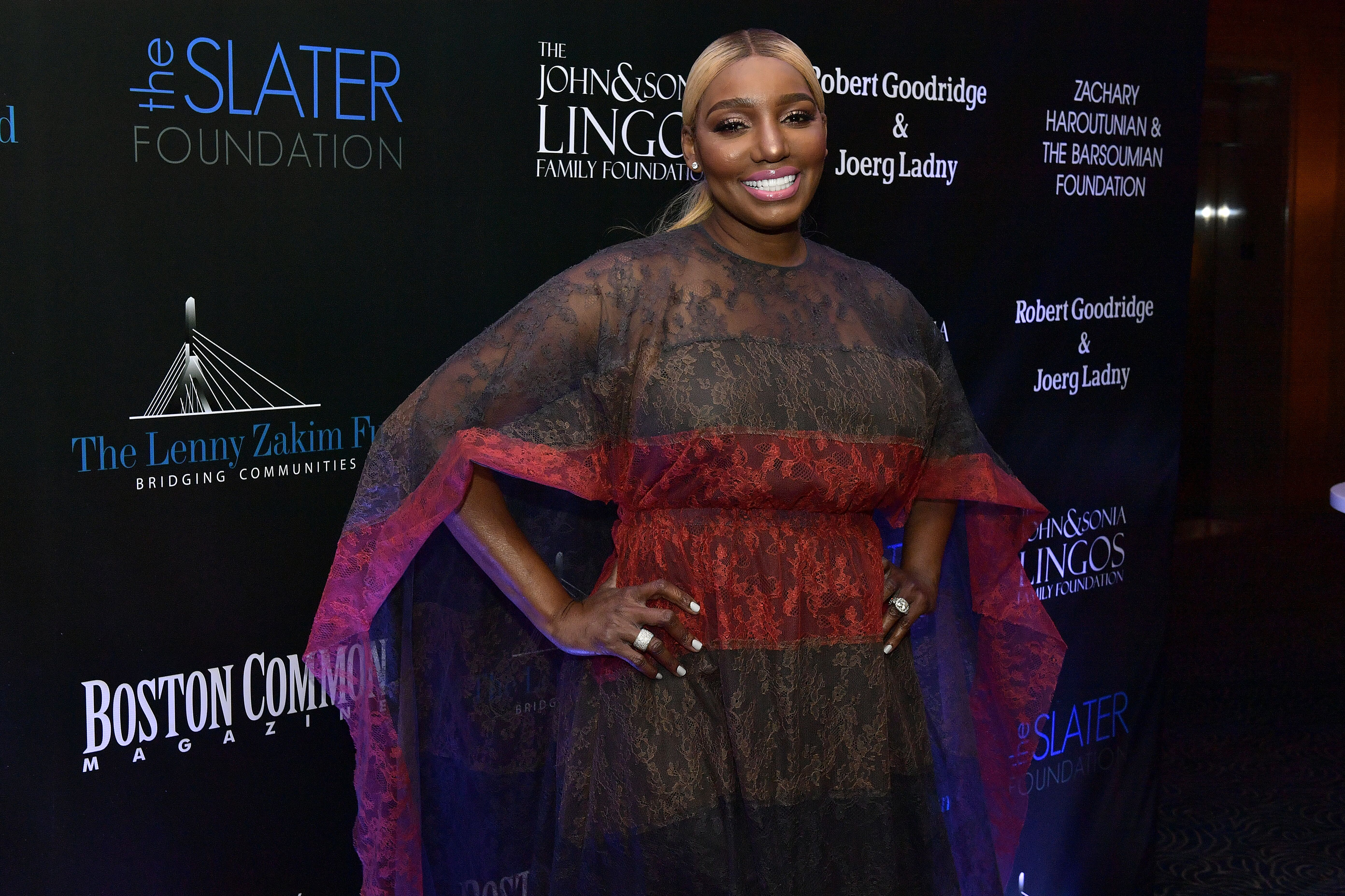 RHOA star NeNe Leakes at a Slater Foundation event/ Source: Getty Images