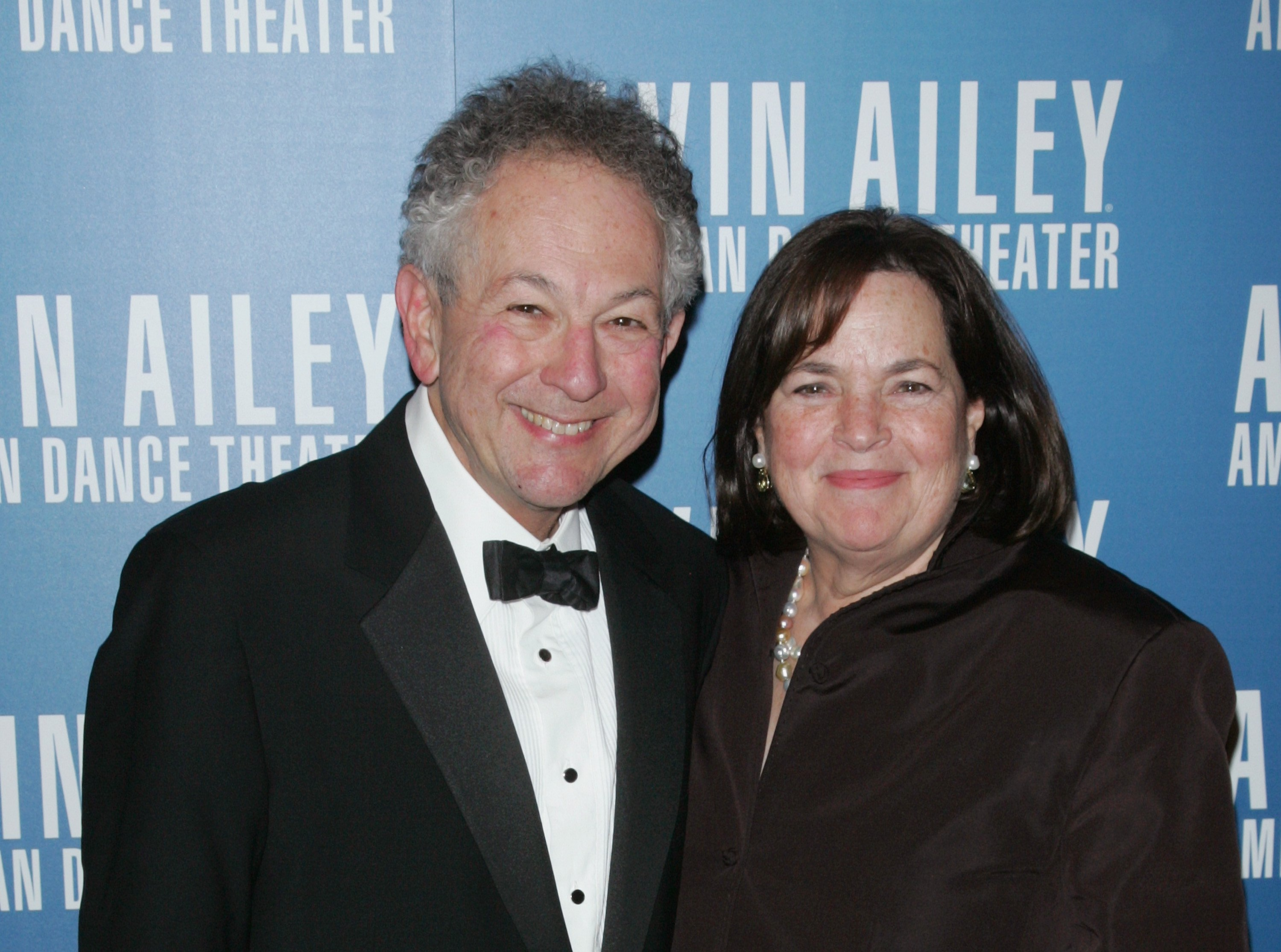 Jeffrey and Ina Garten attends the Alvin Ailey American Dance Theater Opening Night Gala on November 28, 2012, in New York City. | Source: Getty Images.