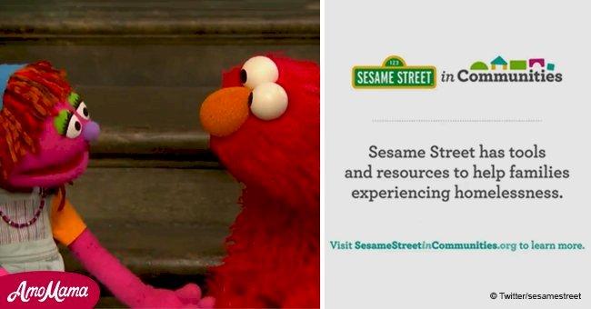 'Sesame Street' presents their first homeless character