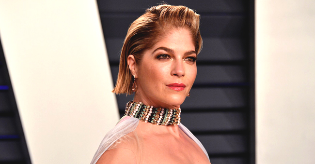 Selma Blair Sparks Debate after Sharing a Bathtub Photo with Her Son