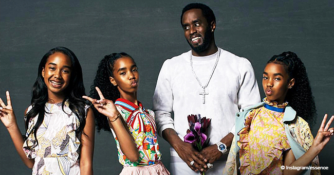 Diddy & Daughters Stun on Essence Cover, Talks Death of Kim Porter