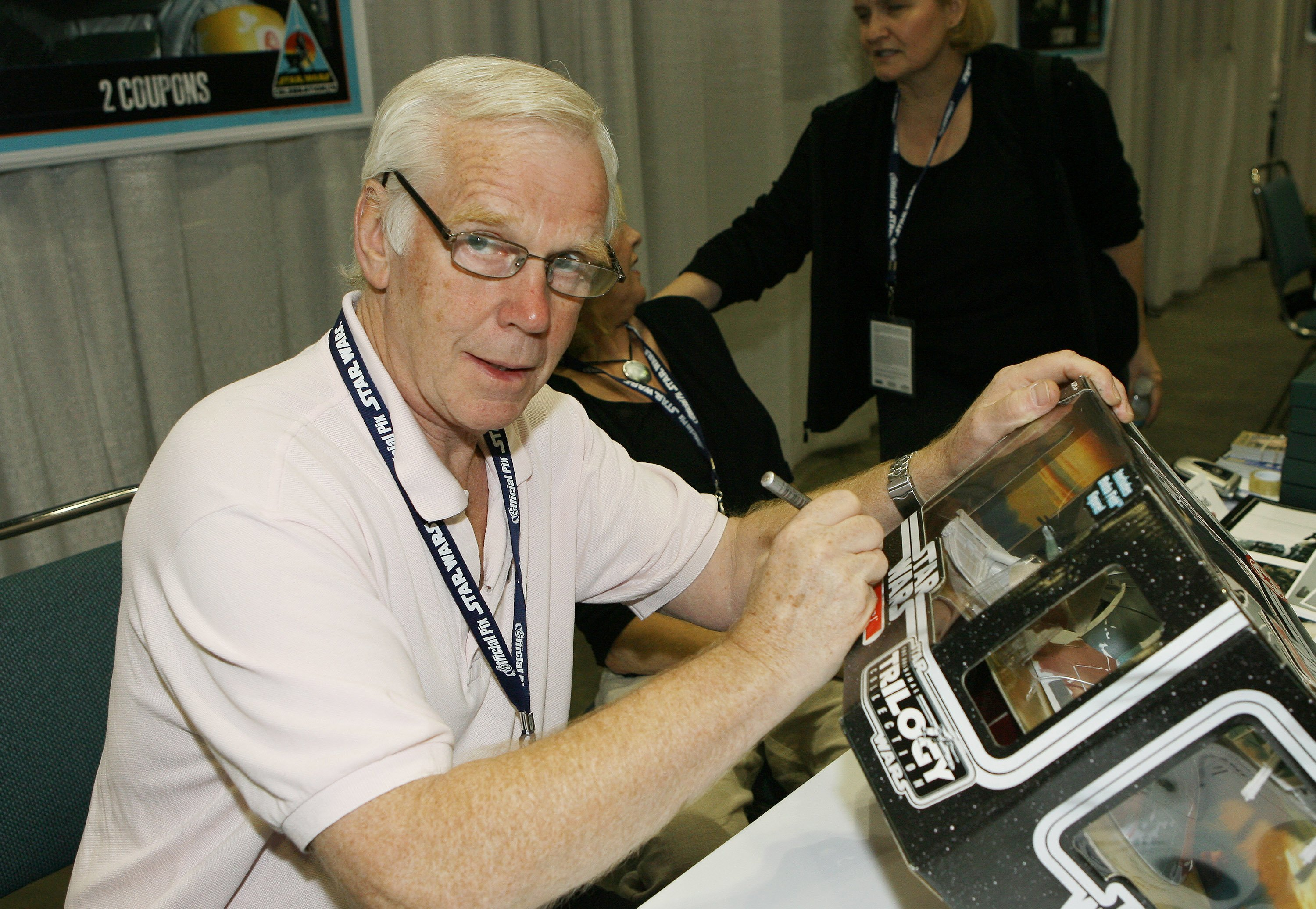 """Jeremy Bulloch during """"Star Wars"""" Celebration IV in May 2007. 