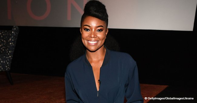 Gabby Union's Baby Looks 'Unbothered' like a Princess, Resting in Personalized Chair in New Pic