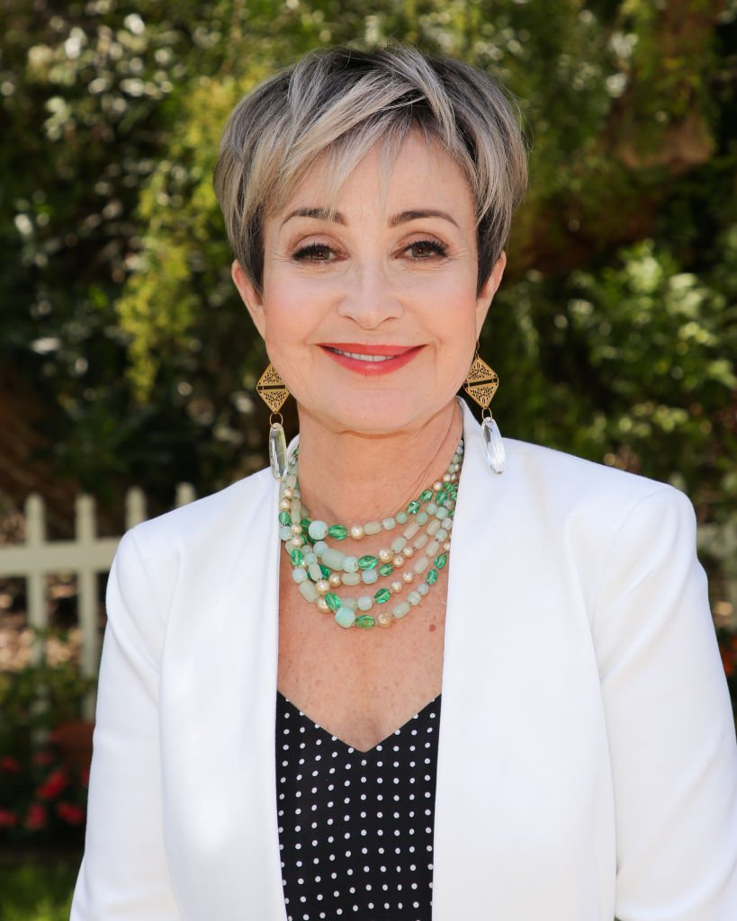 "Annie Potts visits Hallmark's ""Home & Family"" at Universal Studios Hollywood  