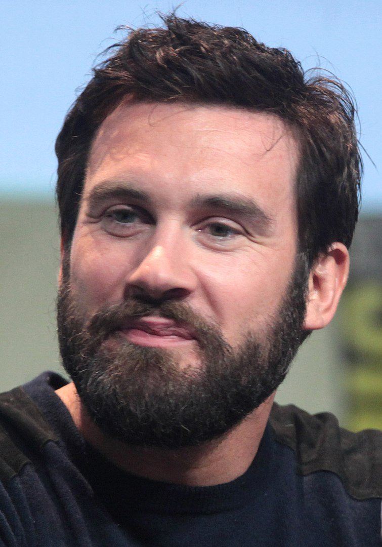 """Clive Standen speaking at the 2015 San Diego Comic Con International, for """"Patient Zero"""", at the San Diego Convention Center in San Diego, California 