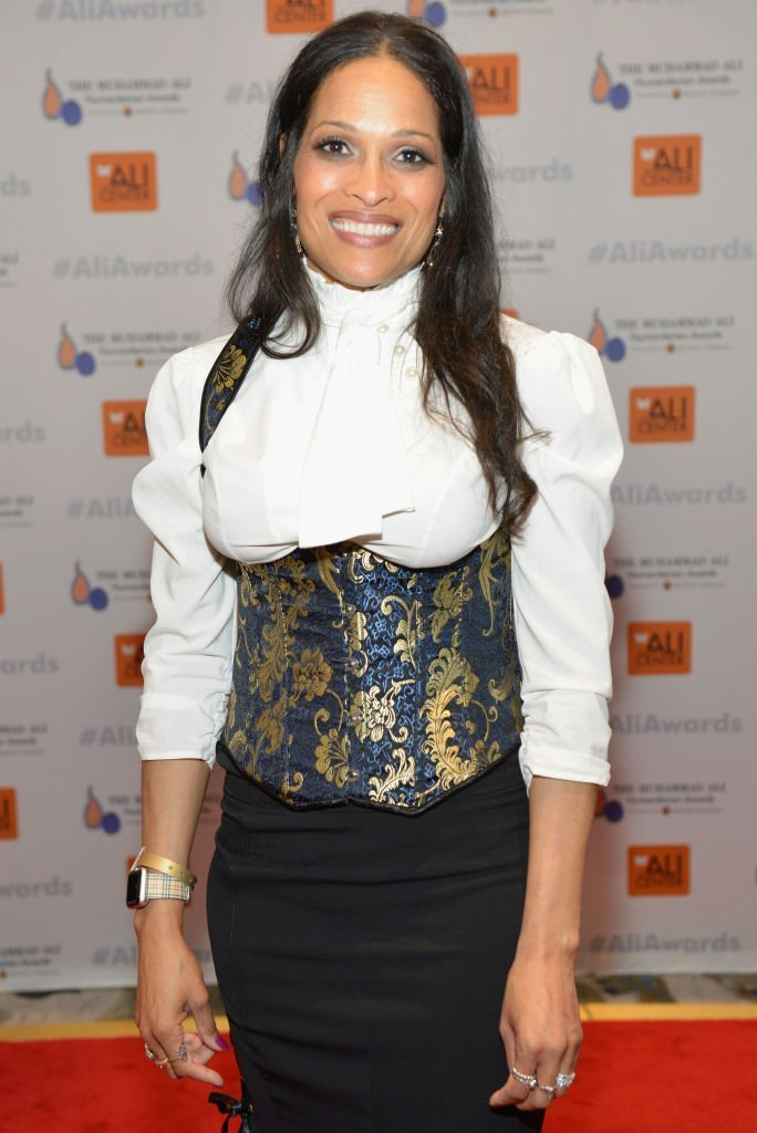 Jamillah Ali-Joyce arrives for The Muhammad Ali Humanitarian Awards at Marriott Louisville Downtown | Getty Images