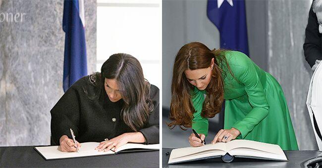 Écriture royale : Ce que la calligraphie révèle sur les membres de la famille royale