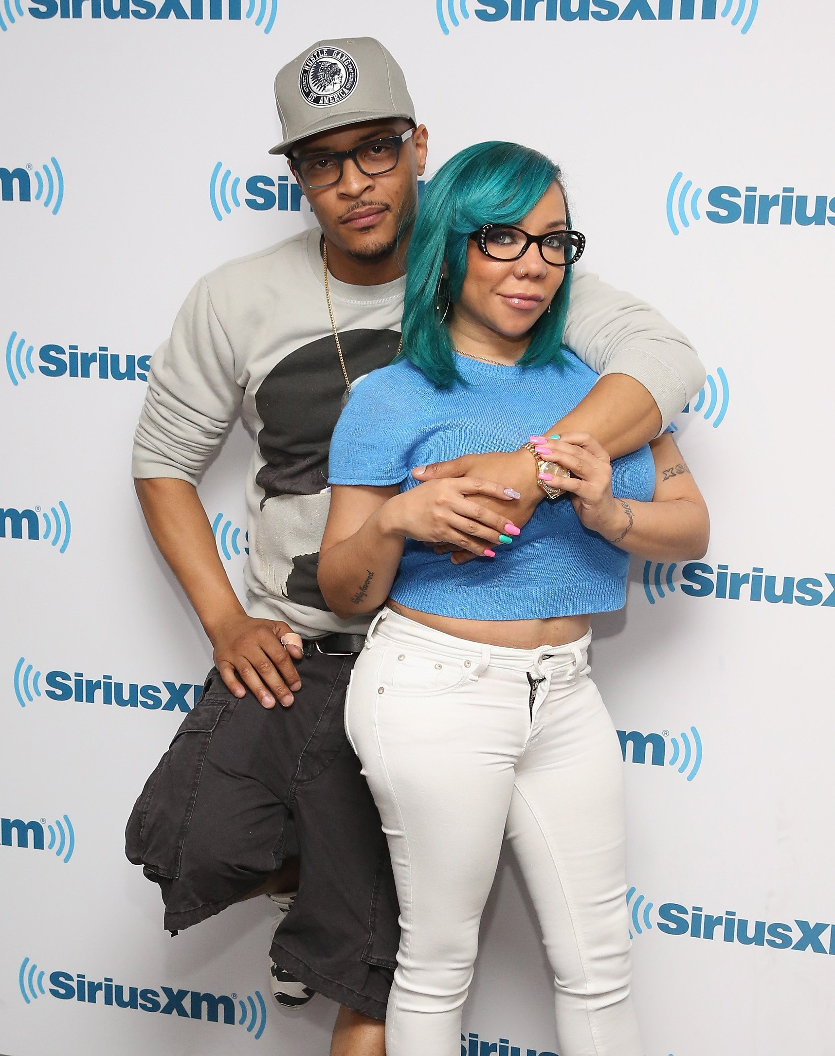 TI and Tiny Harris on June 12, 2015 in New York City | Photo: Getty Images