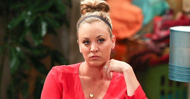 """Kaley Cuoco pictured acting in one episode of """"The Big BangTheory"""" in 2016.   Photo: Getty Images"""