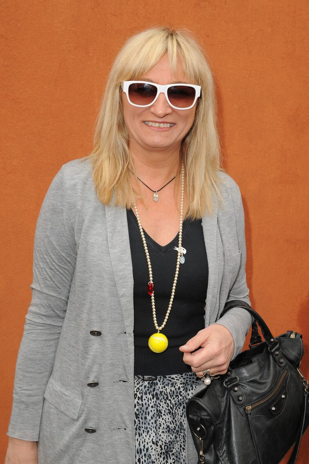 Christine Bravo au village de Roland Garros. | Photo : Getty Images